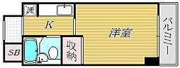 日神パレステージ[3階]の間取り