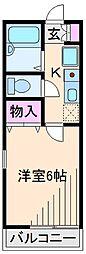 セジュールハイム[2階]の間取り