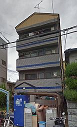 大阪府大阪市東住吉区矢田4丁目の賃貸マンションの外観