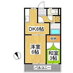 フラワーガーデン[5階]の間取り