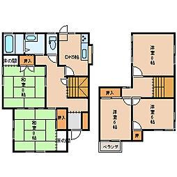 [一戸建] 石川県金沢市窪7丁目 の賃貸【/】の間取り