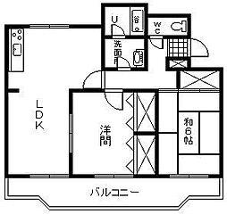 KIYONO第2ビル[301号室]の間取り