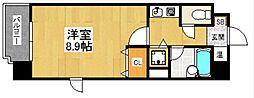 ルポ井尻[4階]の間取り