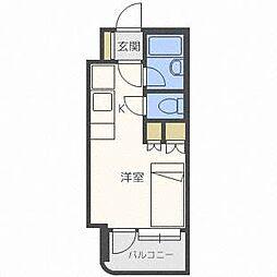 アン・セリジェ弐番館[11階]の間取り
