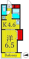 ビューコート[3階]の間取り