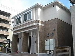 滋賀県大津市比叡辻1丁目20-34の賃貸アパートの外観