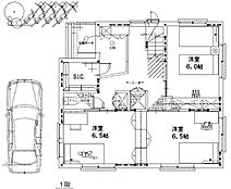 建物参考プラン 1階部分