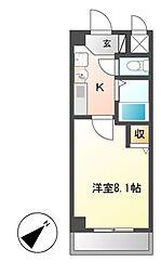 PLAGE HIMURO[2階]の間取り