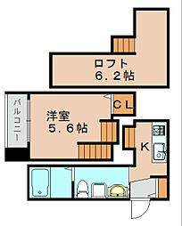 プレミアムデイズ[2階]の間取り