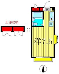 K's FLAT2[1階]の間取り