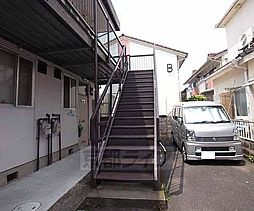 京都府宇治市広野町の賃貸アパートの外観