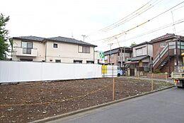 販売現地(平成30年7月12日)   JR中央・総武線「中野」駅徒歩14分  建築条件なし・建物参考プランあり  理想のマイホームをお建てください