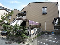 京都府京都市上京区鏡石町の賃貸アパートの外観