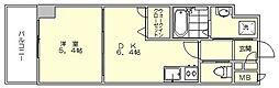 イルマーレ博多[4階]の間取り