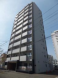 北海道札幌市北区北21条西6丁目の賃貸マンションの外観