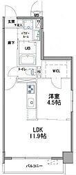 小田急小田原線 祖師ヶ谷大蔵駅 徒歩2分の賃貸マンション 3階1DKの間取り