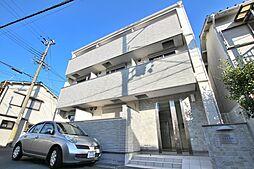 兵庫県神戸市垂水区山手3の賃貸アパートの外観