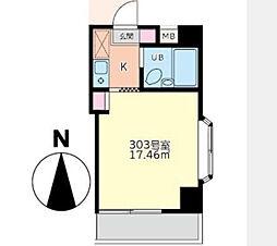 K2高島平[3階号室]の間取り
