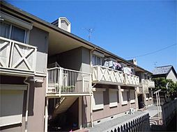 京都府京都市左京区修学院登リ内町の賃貸アパートの外観