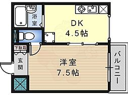 ステージ村田82階Fの間取り画像