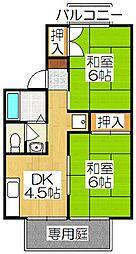 メゾン吉井[103号室]の間取り