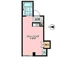 フォートリスカワシマ[1階]の間取り