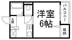 ワイエムカリヤ[0306号室]の間取り
