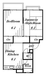 コスモ花澤[1階]の間取り