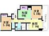 間取り,3DK,面積54.81m2,賃料6.8万円,JR室蘭本線 苫小牧駅 徒歩8分,,北海道苫小牧市錦町2丁目6番16号