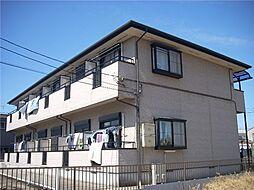 千葉県船橋市坪井町の賃貸アパートの外観