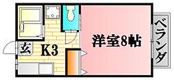 I.DUNE C[23号室]の間取り