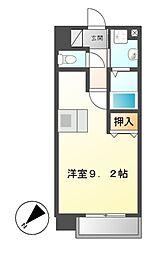 プレサンス新栄リミックス[2階]の間取り