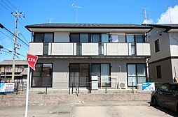 愛知県名古屋市中川区かの里1の賃貸アパートの外観