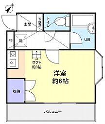 ロフティーフラワー2号館[2階]の間取り
