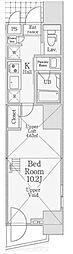 信栄タワー[3階]の間取り