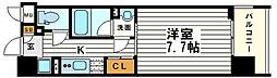 アスヴェルタワー大阪城WEST[7階]の間取り
