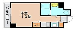県庁前シティピアエクセル[3階]の間取り