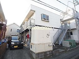 神奈川県伊勢原市東成瀬の賃貸アパートの外観