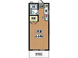 フェリーチェ T.N.[2階]の間取り