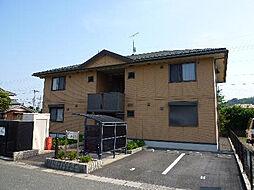 滋賀県高島市今津町桜町2の賃貸アパートの外観