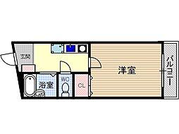 英陽ビル[4階]の間取り
