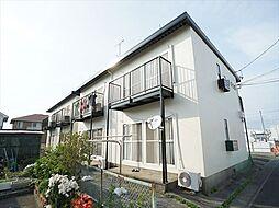 静岡県浜松市中区高丘西2丁目の賃貸アパートの外観