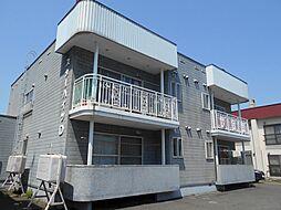 北海道札幌市豊平区豊平四条12丁目の賃貸アパートの外観