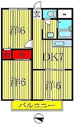マンション小澤[301号室]の間取り