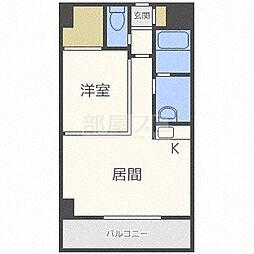 セルベッサ札幌レジデンス[6階]の間取り
