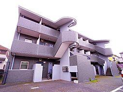 東京都東大和市仲原3丁目の賃貸マンションの外観