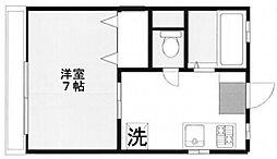エルムII[3階]の間取り
