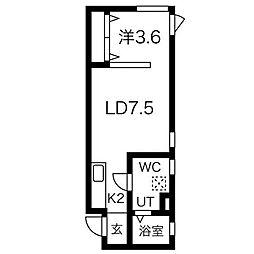 S−STUDIO[3階]の間取り