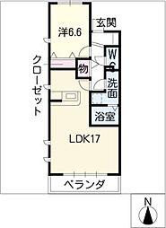 鎌倉台コンフォート[1階]の間取り