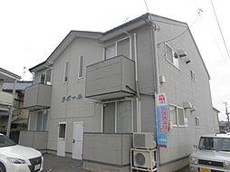 新潟県新潟市秋葉区日宝町の賃貸アパートの外観